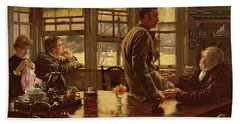 The Prodigal Son In Modern Life  The Departure Beach Towel