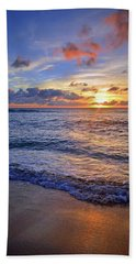Beach Towel featuring the photograph The Promise Of A New Day by Tara Turner