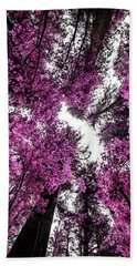 The Purple Forest Beach Towel