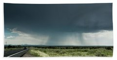 The Rain Storm Beach Towel