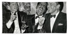 The Rat Pack Collection Beach Towel