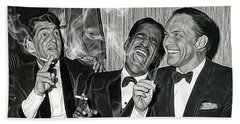 The Rat Pack Collection Beach Sheet
