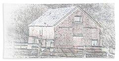 The Red Barn Beach Sheet
