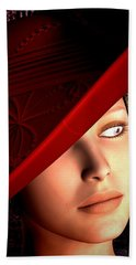 The Red Hat Beach Towel