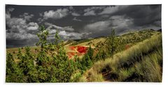 The Red Hill Beach Towel