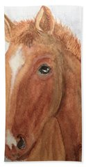 The Red Pony Beach Towel