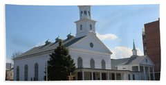The Reformed Church Of Newtown- Beach Towel