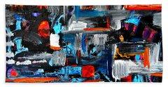 The Reprieve Beach Towel by Expressionistart studio Priscilla Batzell
