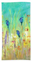 The Resting Place Beach Towel by Frances Marino
