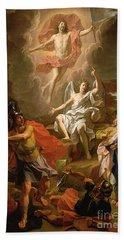 The Resurrection Of Christ Beach Towel