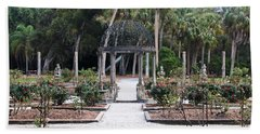 The Ringling Rose Garden Beach Towel