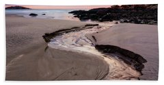 The River Good Harbor Beach Beach Towel by Michael Hubley