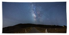 The Road To The Milky Way Beach Sheet