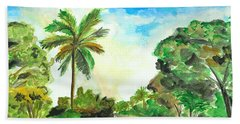 The Road To Tiwi Beach Towel