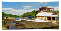 The Rondout At Eddyville Beach Towel