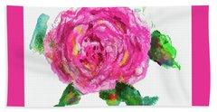The Rose Beach Sheet by Beth Saffer