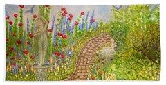 The Rose Dancer Garden Of Victorian Delight Beach Towel