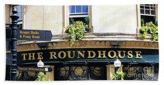 The Roundhouse Pub Bath England Beach Sheet