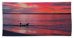 The Royals Of Topsail Beach Towel