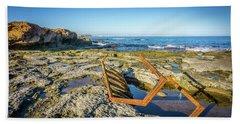 The Rusty Steps Beach Towel