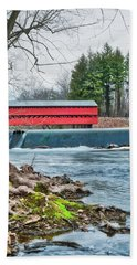 Beach Towel featuring the photograph The Sachs by Mark Dodd