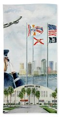 The Salute Beach Towel