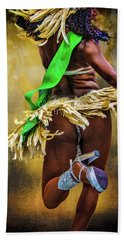 Beach Towel featuring the photograph The Samba Dancer by Chris Lord