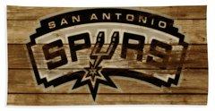 The San Antonio Spurs 3c Beach Sheet by Brian Reaves