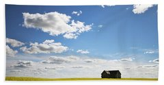 The Saskatchewan Prairies II Beach Towel