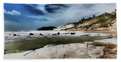 The Scala Dei Turchi II Beach Sheet by Patrick Boening