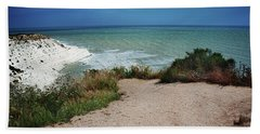 The Scala Dei Turchi Beach Towel