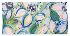 The Scent Of Summer Beach Sheet by Judith Desrosiers