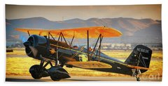 The Scott Familys 1929 Stearman  Version 2 Beach Towel