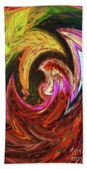 Beach Towel featuring the photograph The Scream by Sue Melvin