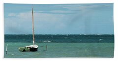 The Sea Calls My Name Beach Towel