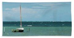 The Sea Calls My Name Beach Towel