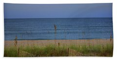 The Sea Shore Line Beach Towel