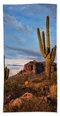 Beach Towel featuring the photograph The Sentinels Of The Supes In Color  by Saija Lehtonen