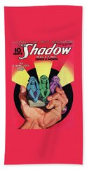 The Shadow The Living Joss Beach Towel