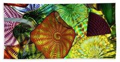 The Shape Of Color 5 Beach Towel