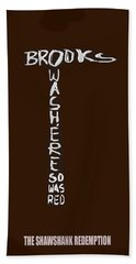 The Shawshank Redemption Movie Poster 2 Beach Towel