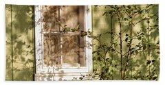 The Shed Window Beach Sheet