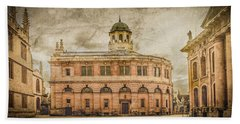 Oxford, England - The Sheldonian Theater Beach Sheet