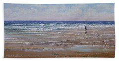 The Shell Collector Beach Towel