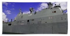 The Ship Is Huge Beach Sheet