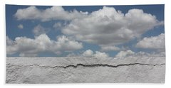 Beach Towel featuring the photograph The Sky Is Falling by Brian Boyle