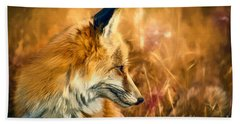 The Sly Fox Beach Towel