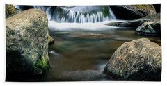 The Smallest Waterfall Beach Towel