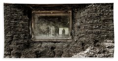 Beach Towel featuring the photograph The Sod House by Brad Allen Fine Art