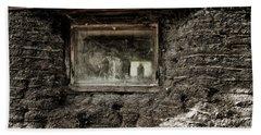 Beach Sheet featuring the photograph The Sod House by Brad Allen Fine Art